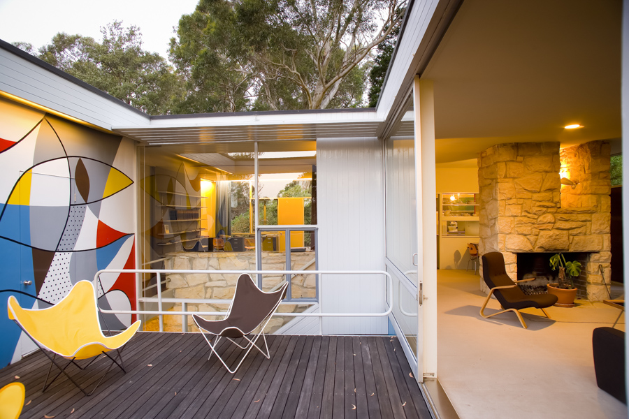 Rose Seidler House Mural, Wahroonga