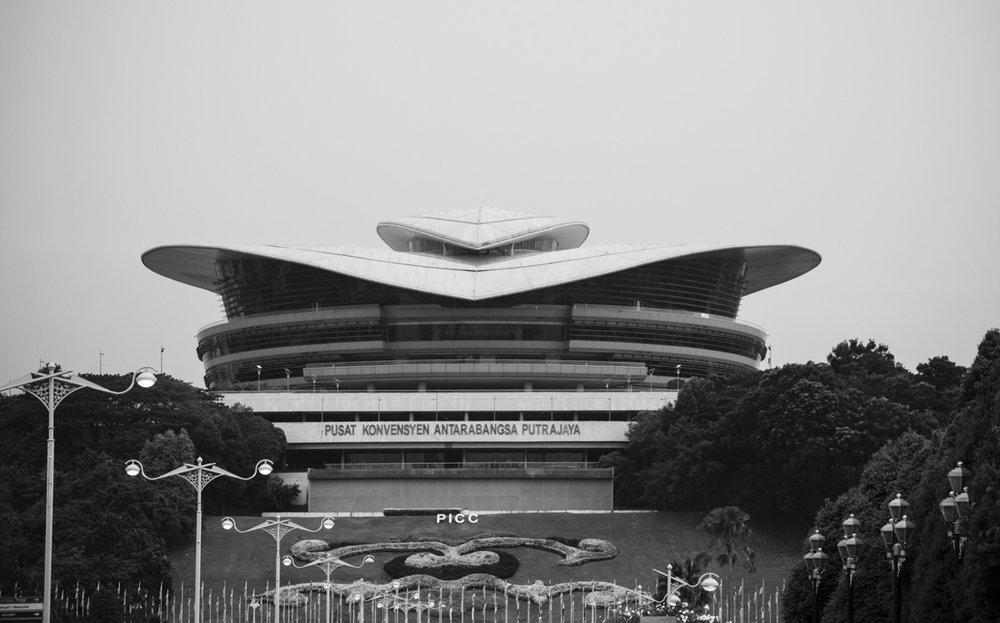 Putrajaya International Convention Centre, Putrajaya, Malaysia. Architect: Hijjas Kasturi.