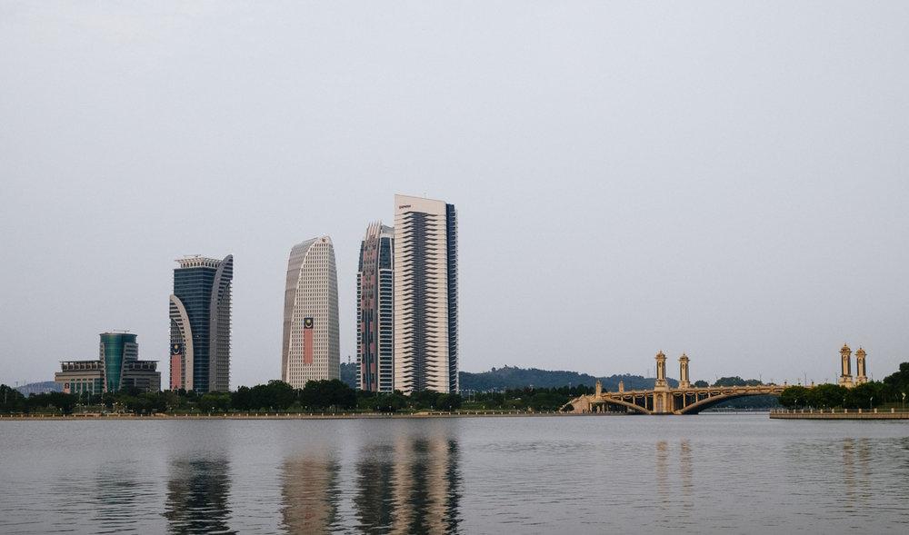 Lakeside at Putrajaya, Malaysia.