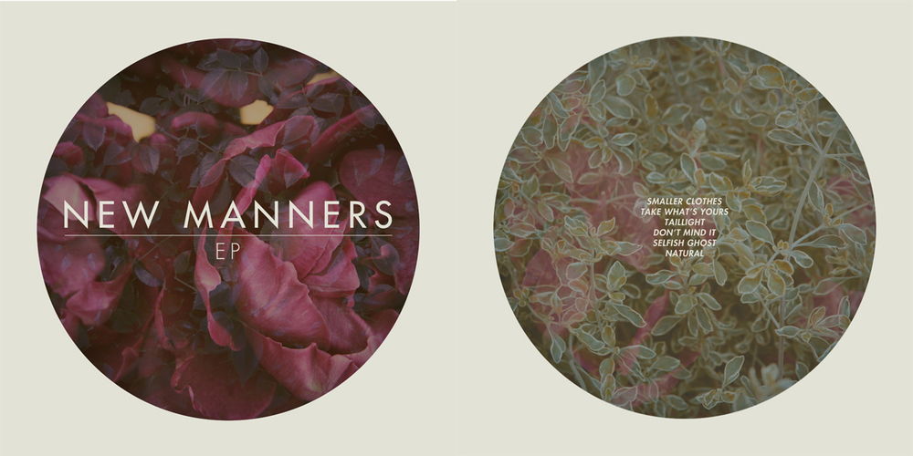 New Manners EP Art