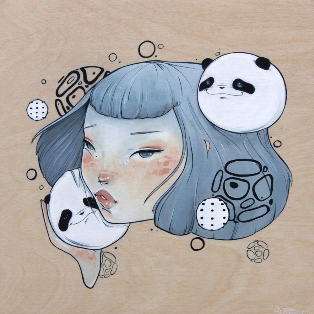 Squishy Panda Love