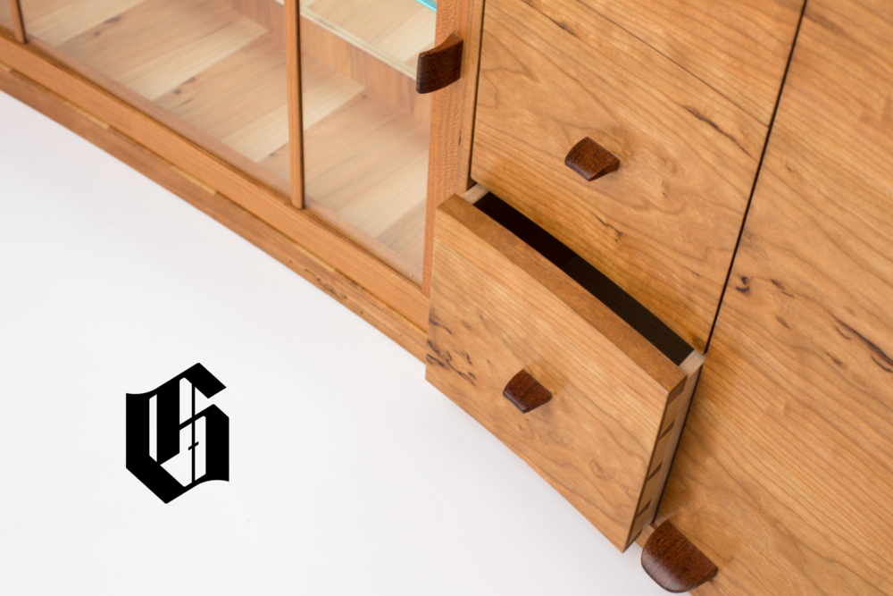 Gunderson > Bespoke, handmade furniture. > Scope: Logo, print, digital.