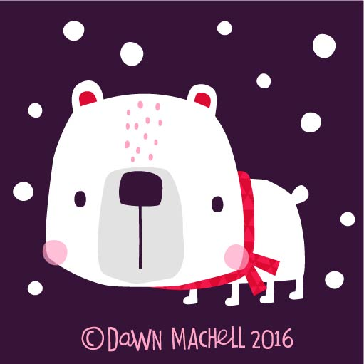 polarbear in the dark ..dawnmachell.jpg
