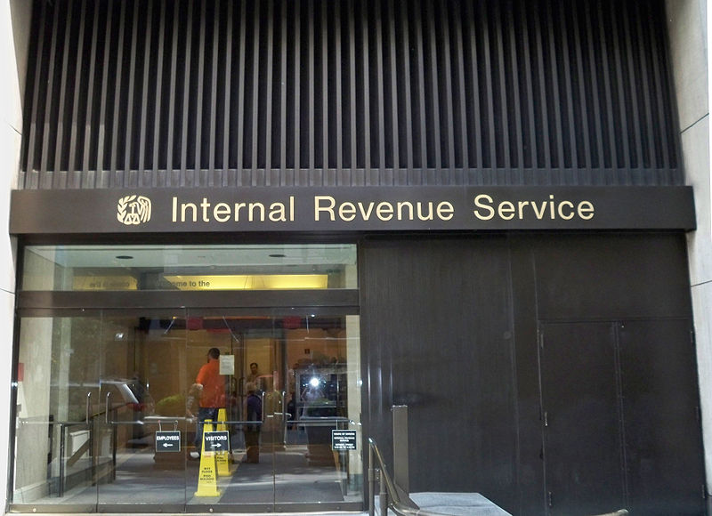 IRS Field Office, New York.  Source: Wikimedia Commons