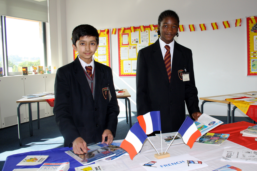 Modern Foreign Languages: French Display