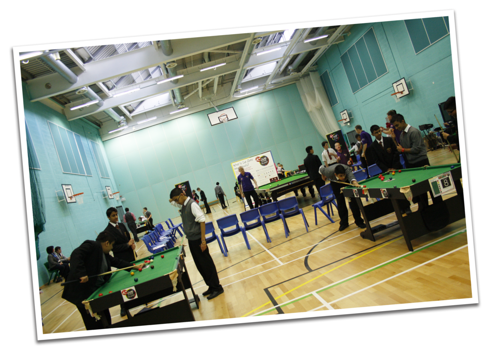 The Snooker Day was held in our Sports Hall