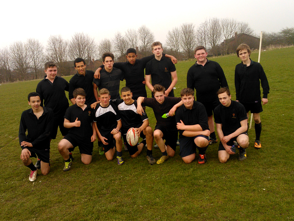 Our Under 15 Rugby Team (Years 9 and 10)