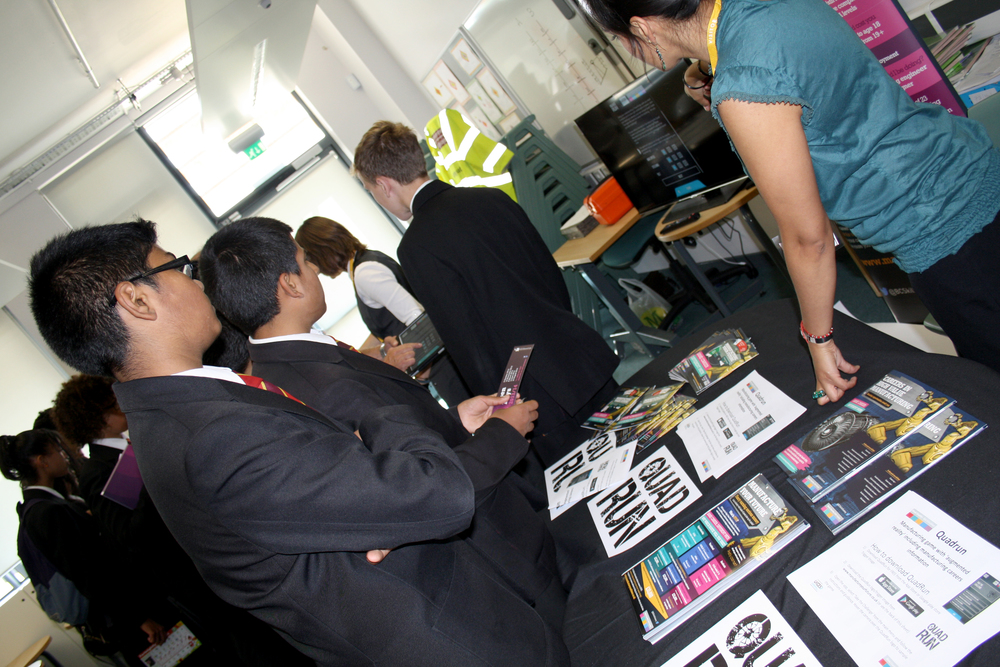 Students Engage with Exhibitors