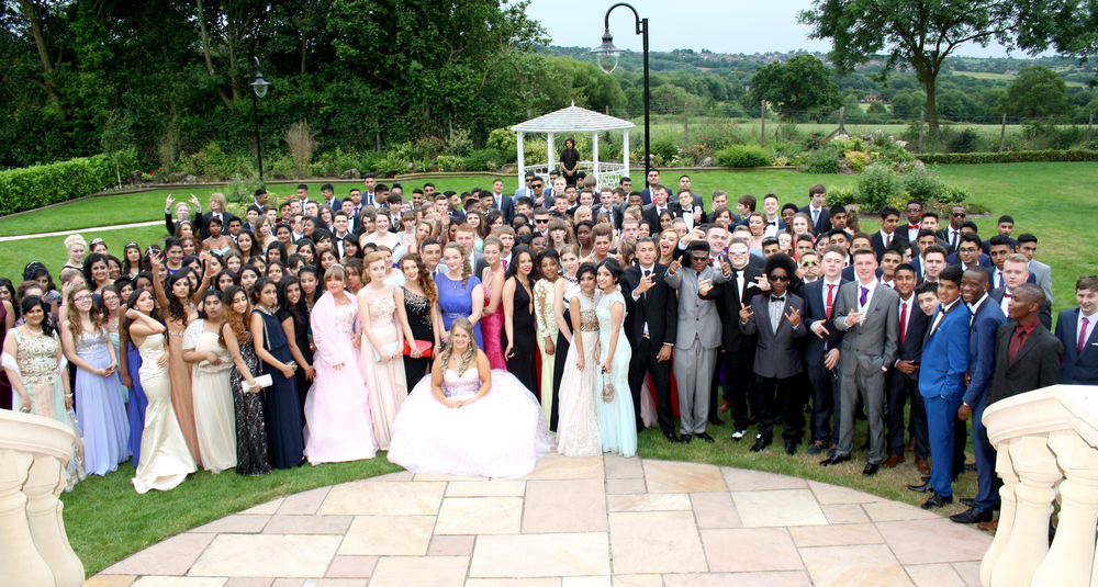The Year 11 Prom, held at the Ramada Park Hall Hotel.