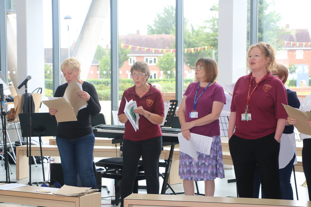 Students, Staff, Relatives And Friends Of Highfields And Penn Fields Are  Being Invited To Raise The Roof By Joining A Popular Community Choir, ...