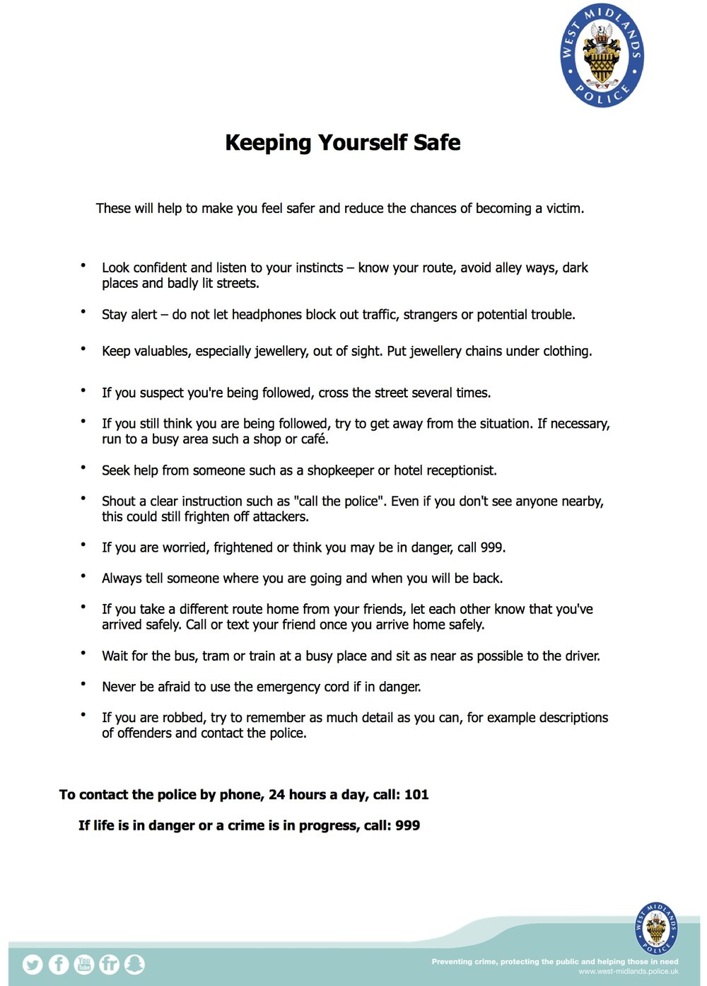 7. Keeping Yourself Safe, Students, October 2017 3.jpg