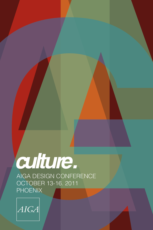 AIGA Poster - Addy Award Winner