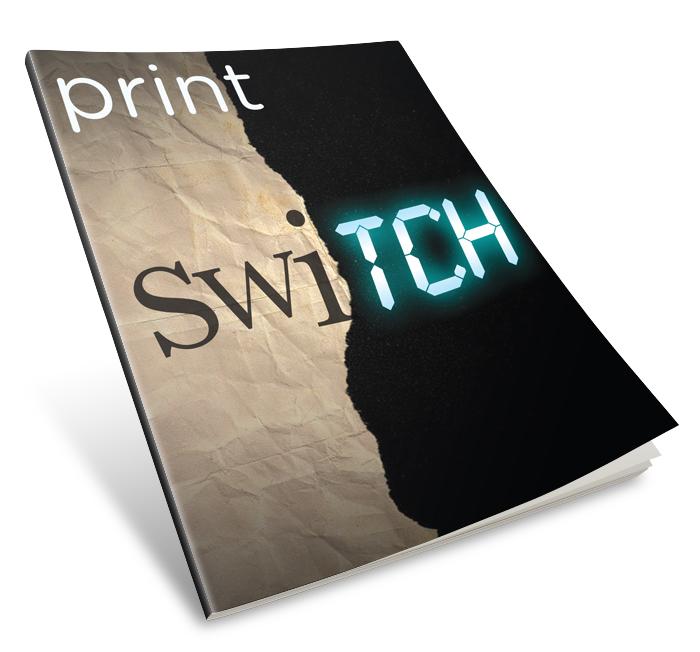 Print Magazine cover - Addy Award Winner