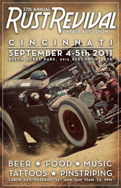 Car show poster - concept