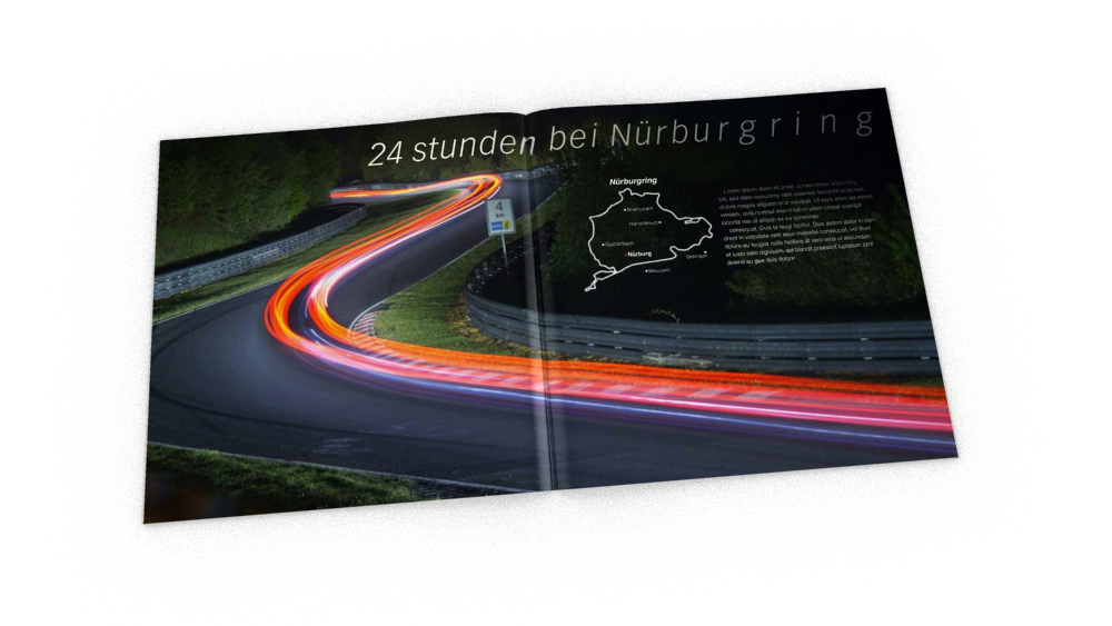 24 Hours at Nurburgring - magazine spread