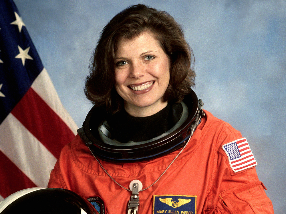 "Mary Ellen Weber, STS-70 Mission Specialist #3                 0     0     1     7     40     Suburb Studio, Inc.     1     1     46     14.0                  Normal     0                     false     false     false         EN-US     JA     X-NONE                                                                                                                                                                                                                                                                                                                                                                                                                                                                                                                                                                                                                                                                                                               /* Style Definitions */ table.MsoNormalTable 	{mso-style-name:""Table Normal""; 	mso-tstyle-rowband-size:0; 	mso-tstyle-colband-size:0; 	mso-style-noshow:yes; 	mso-style-priority:99; 	mso-style-parent:""""; 	mso-padding-alt:0in 5.4pt 0in 5.4pt; 	mso-para-margin-top:0in; 	mso-para-margin-right:0in; 	mso-para-margin-bottom:10.0pt; 	mso-para-margin-left:0in; 	line-height:115%; 	mso-pagination:widow-orphan; 	font-size:11.0pt; 	font-family:Calibri; 	mso-ascii-font-family:Calibri; 	mso-ascii-theme-font:minor-latin; 	mso-hansi-font-family:Calibri; 	mso-hansi-theme-font:minor-latin;}"