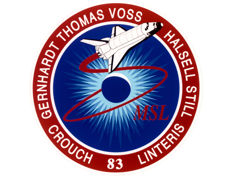 STS-83 mission patch.