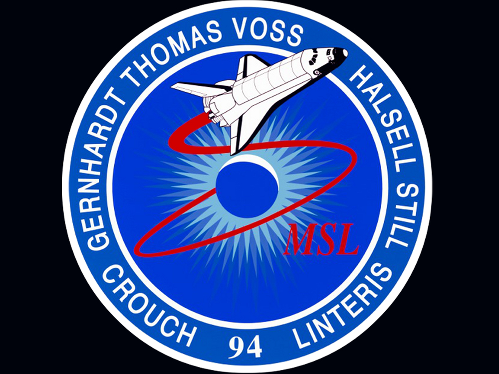 STS-94 mission patch.