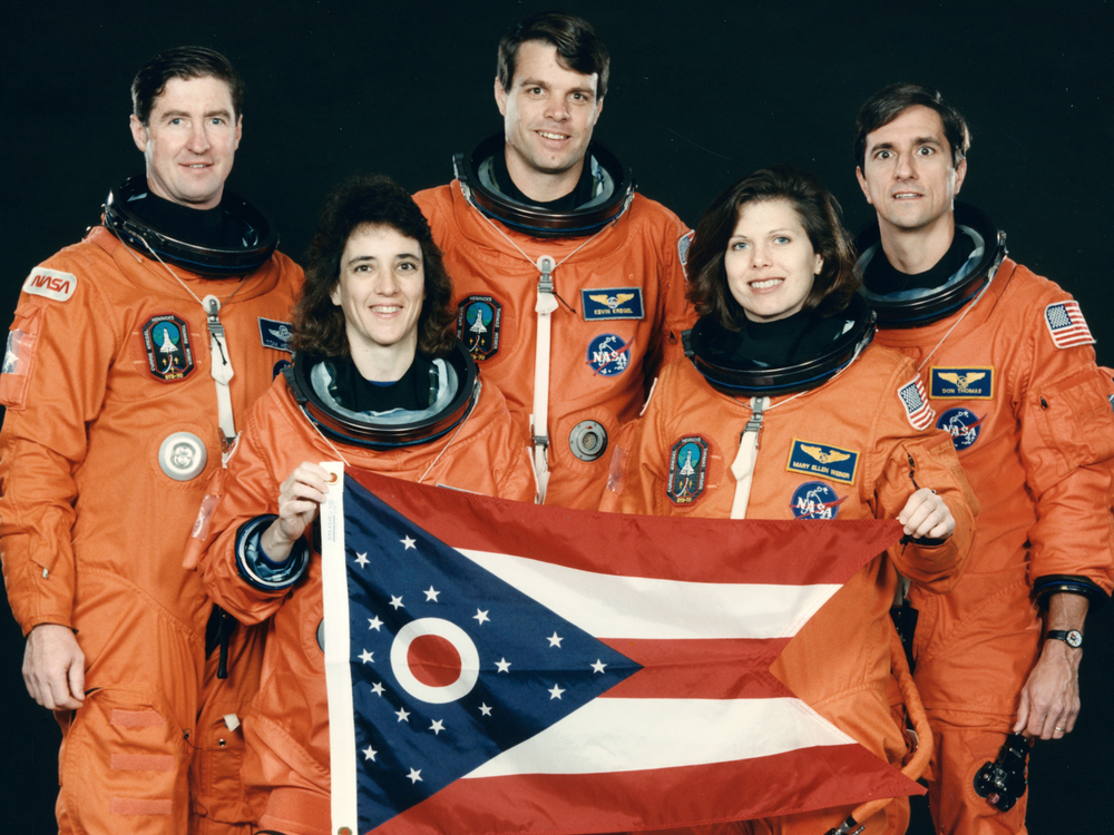 "The ""All-Ohio"" Space Shuttle Crew."