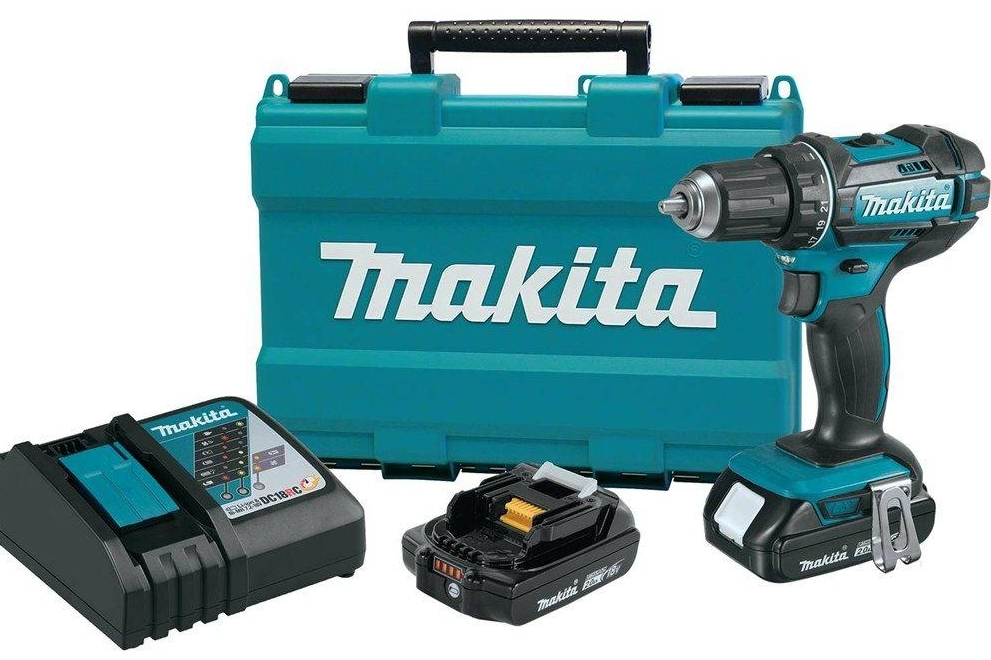 The coveted Makita drill.