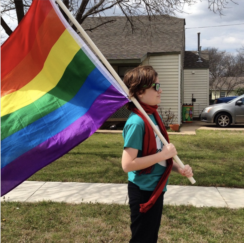 The Pride flag goes lots of places with Galileo.