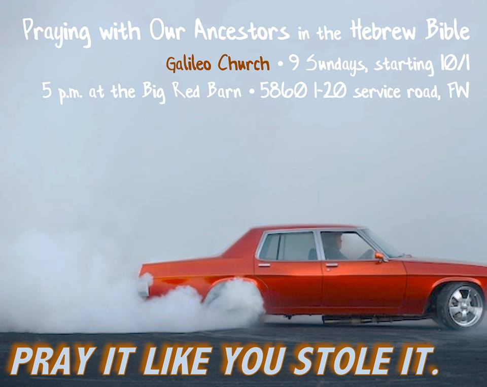 Pray like you Stole it!