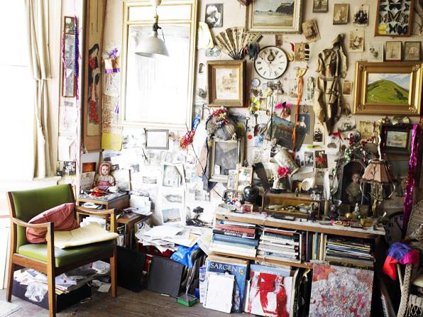 Larie Frankel cluttered wall.jpg