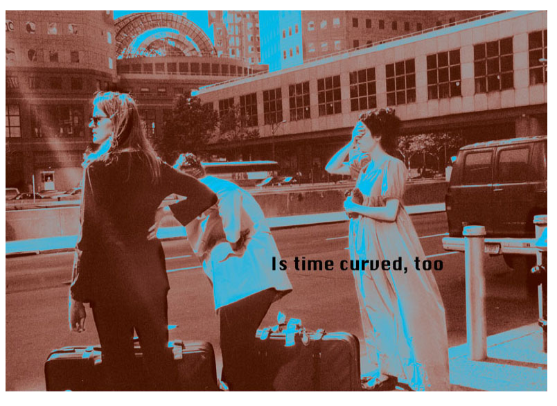 "Lenore Malen  Is Time Curved, Too , 2009 Archival inkjet print, 5 of 10 22"" x 29"" Retail Value: $1,500 Opening Bid: $250"