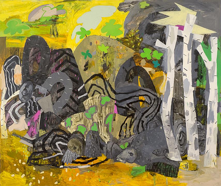 """America Insurrecta, 2013 Oil on canvas, 72"""" x 84"""""""