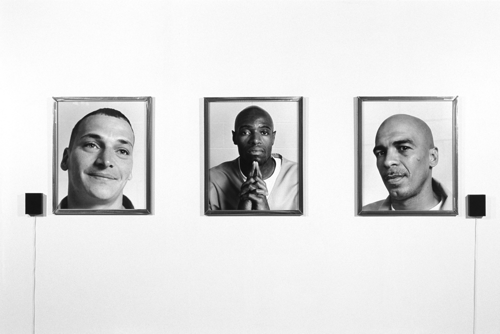 "Lockdown 2000-2004 11 Gelatin silver prints, spoken word audio Prints: 24"" x 20"" each; Audio: 13'18"""