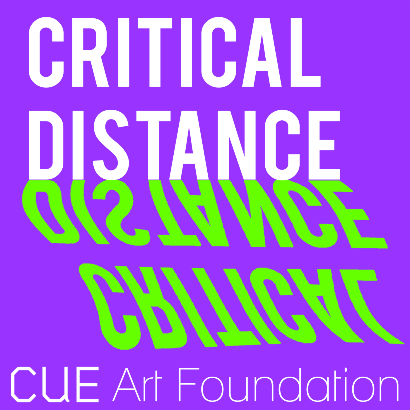 Critical Distance Podcasts - CUE Art Foundation