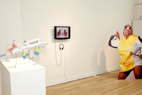 2012 SELECTION     GODDESS CLAP BACK: HIP HOP FEMINISM IN ART Curated by Katie Cercone