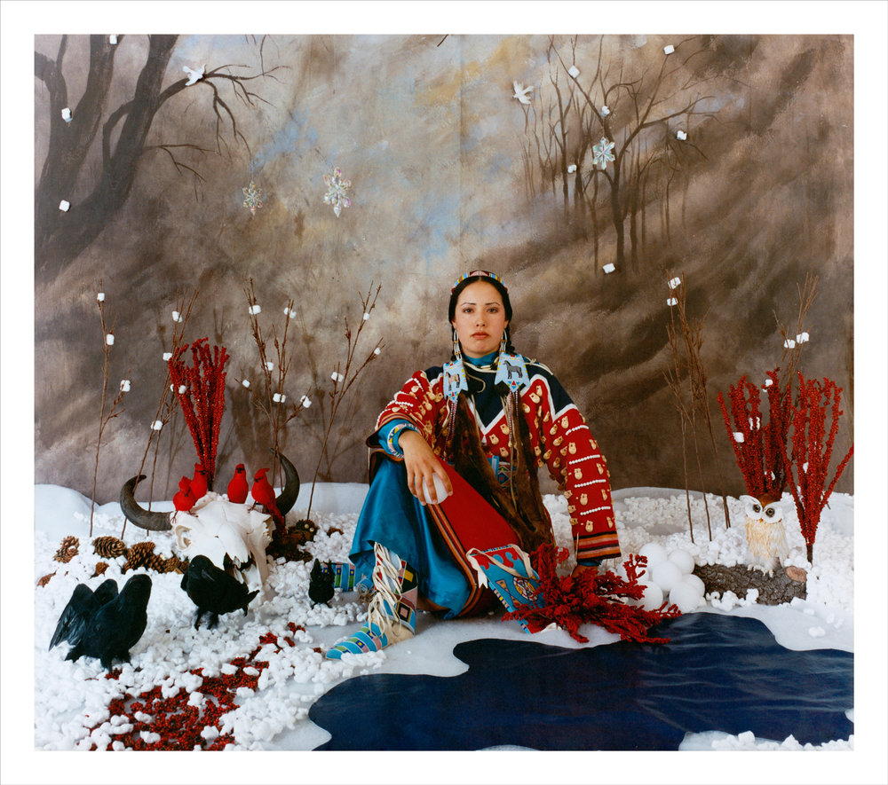 Wendy Red Star,  Winter (Four Seasons Series) , 2006, archival pigment print.