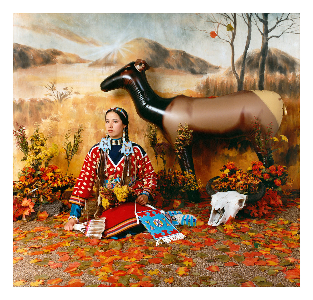Wendy Red Star,  Fall (Four Seasons Series) , 2006, archival pigment print.