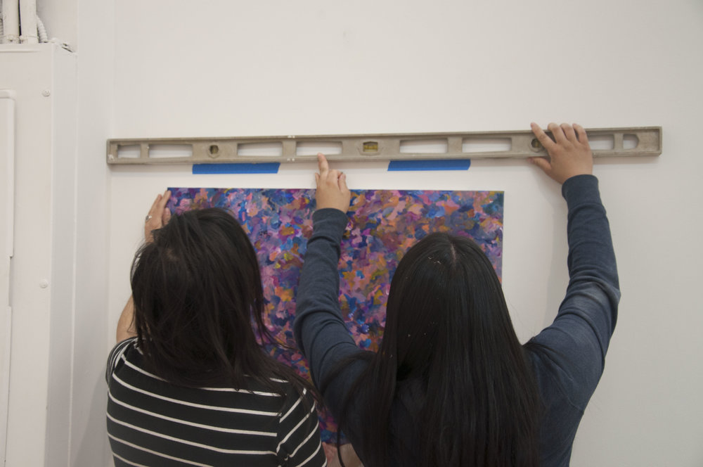 Learn how to install your artwork