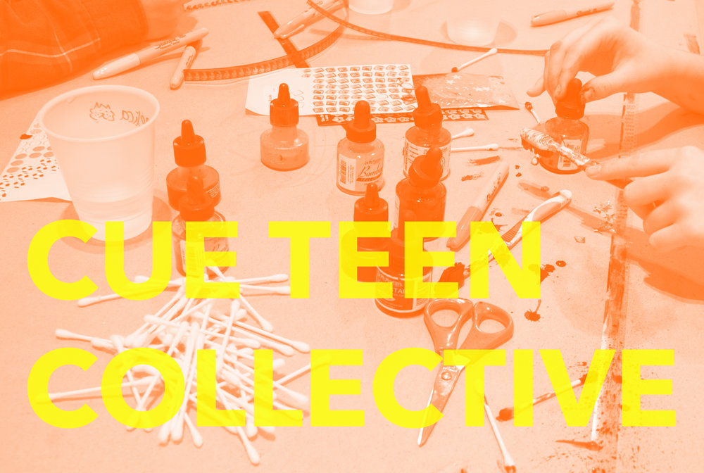 The  CUE Teen Collective  is a free, year-long after-school program for 10th and 11th-graders.