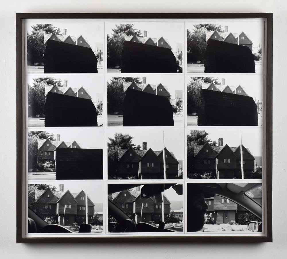 Witch house drive by  2017  Twelve gelatin silver prints  12 x 18 inches