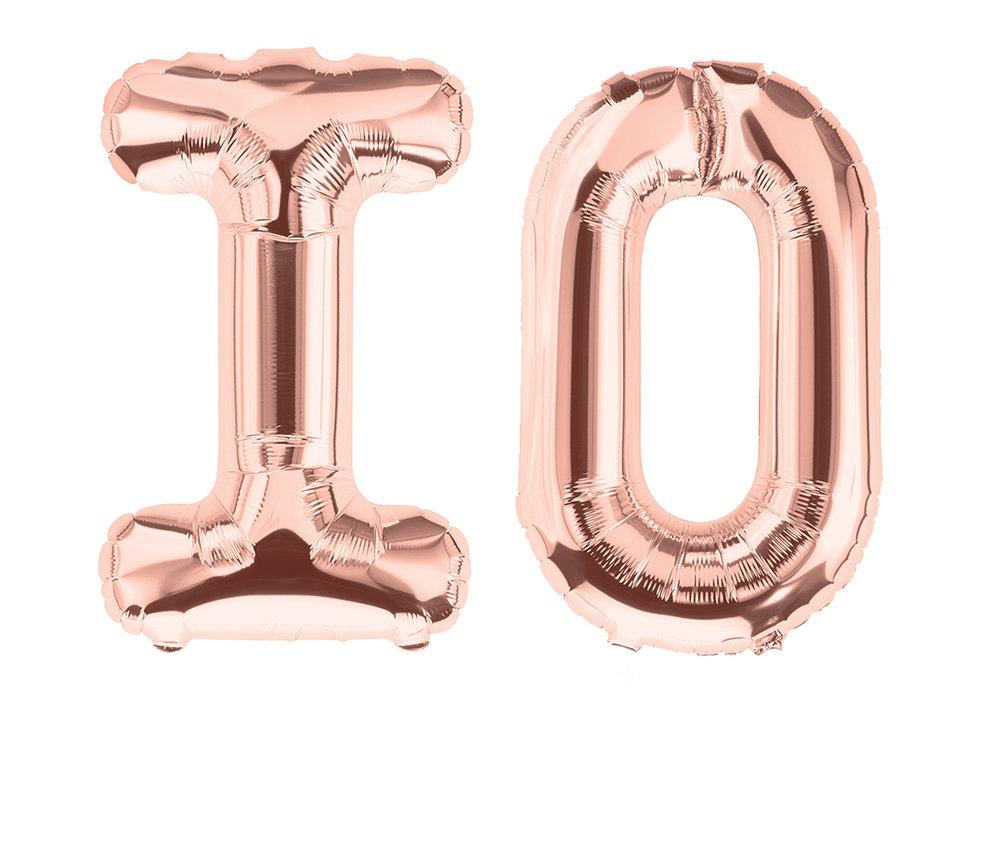 Amanda Turner Pohan  io or IO or 1 0 or a slow leak  (detail) 2019 Metallic bronze alphabet balloons, helium, monofilament wire 36 x 40 x 6 inches