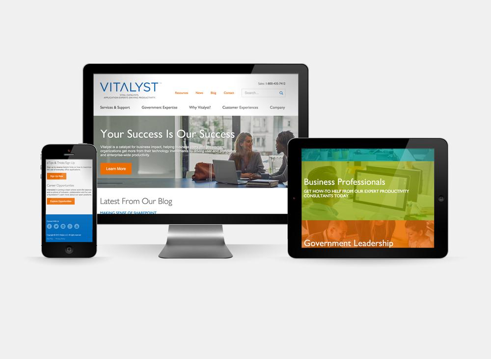 Vitalyst - Website Redesign
