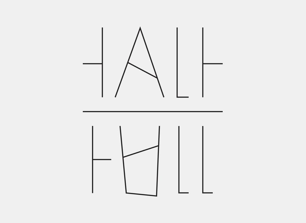 Half Full – Identity, Product Design, & Visual System