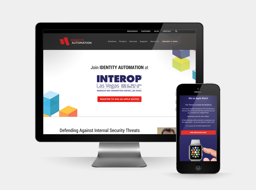 Identity Automation - Marketing Materials for Interop Conference