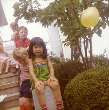 My 5th Birthday Party. Seoul, Korea, 1982.