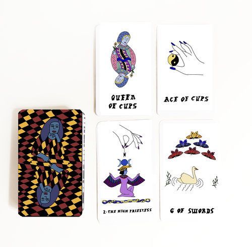Small Spells Color Tarot Deck — Small Spells