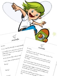 Printable tooth fairy letter bundle from Tooth Fairy Mischiefee