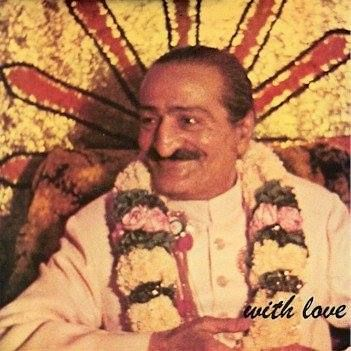 AVATAR MEHER BABA on the cover of the 1976 album With Love dedicated to Meher Baba featuring Pete Townshend and other musicians. (Wikipedia)