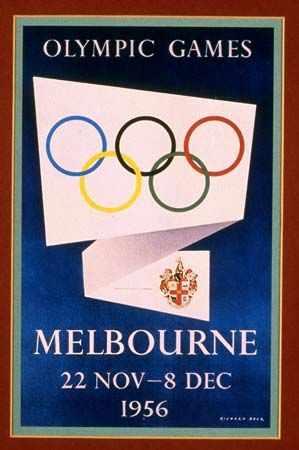 MELBOURNE was the first Australian city to host the Olympic games, November 22-December 8, 1956. It was the first time that the Summer Olympics were held in the Southern Hemisphere during the Northern Hemisphere's winter. (Source: Britannica.com)