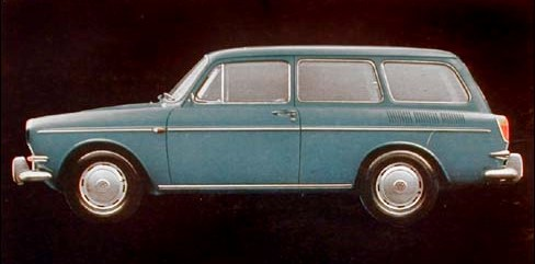 A VOLKSWAGEN STATION WAGON similar to the one Sam and Martha Aubin (then Ervin) drove to Arizona with Agnes Baron in 1972. (Photo:  W  orld Encyclopedia of Cars)