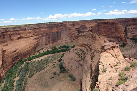 CANYON DE CHELLY NATIONAL MONUMENT in Arizona. (Photo:  Wikimedia Commons )