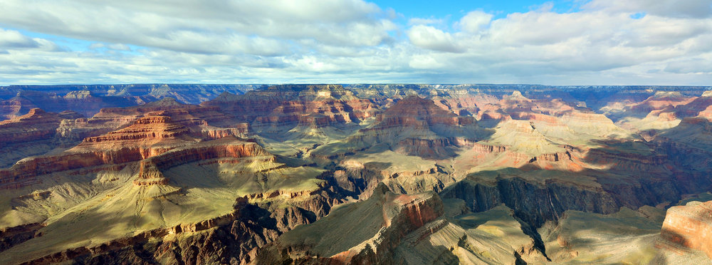 A PANORAMA of the Grand Canyon National Park in Arizona, 2010. (Photo:  Wikimedia Commons )