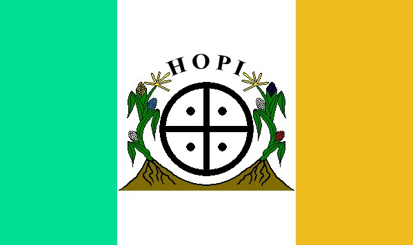 FLAG of the Hopi Nation. (Photo:  Wikipedia .)
